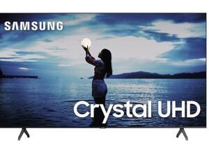 "Smart TV Samsung 55"" TU7020 Crystal UHD 4K 2020 Bluetooth Borda ultrafina   R$ 2.461"