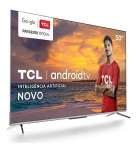 "Smart TV 50"" 4K TCL P715 | R$2.059"