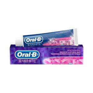 Creme Dental Oral-B 3D White Leve 3 Pague 2 R$9