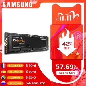 SSD M.2 nvme Samsung 970 evo | R$616