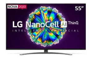 "Smart TV Nanocell 55"" LG NANO86SNA | R$3.199"
