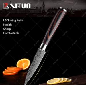Faca Xituo Santoku 3.5' Paring Knife | R$19