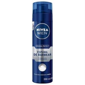 Espuma Barbear Nivea Hidratante 193g | R$9,90 | Frete Grátis APP