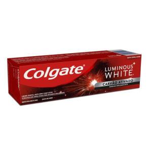 (Leve 3, pague 1) Creme Dental Colgate Luminous White Carvão Ativado 70g - R$5