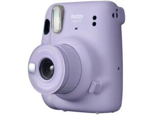 Instax Mini 11 Fujifilm Lilás Flash Automático - com Acessórios - R$311