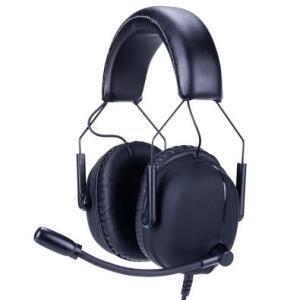 Headset Gamer Husky Tactical, 7.1 Som Surround, Drivers 2x 30mm + 2x 40mm, Black - HS-TTC-BL   R$ 226