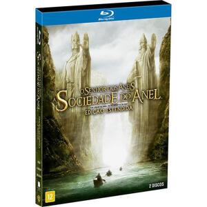 Blu-ray Senhor dos Anéis - A Sociedade do Anel - Versão estendida | R$37