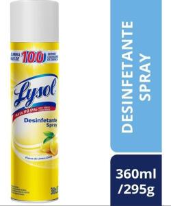 Desinfetante Lysol de Lima e Limão | R$15