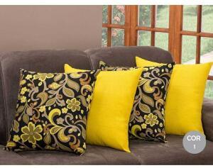 Kit 4 capas almofadas decorativas | R$43