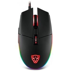 Mouse Gamer Motospeed V50 4000 DPI, RGB Backlight, Black, FMSMS0005PTO | R$110