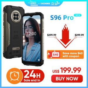 Smartphone DOOGEE S96 Pro Rugged Phone 8GB+128GB | R$1.324