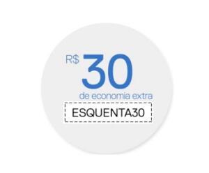 R$30OFF para acessórios e monitores selecionados a partir de R$899