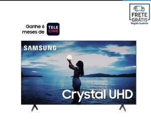 "Smart TV 50"" Crystal UHD TU7020 4K 2020 + 6 meses de telecine grátis   R$2089"