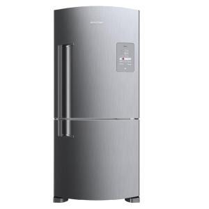 Geladeira Brastemp Frost Free Inverse 573 litros cor Inox com Smart Bar - BRE80AK