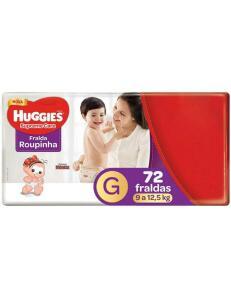 Fralda Huggies Supreme Care Roupinha CalçaTam. G 144 unid (2 pacotes) | R$104