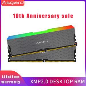 Memória Asgard W2, RGB, 32GB(16x2), 3200MHz, DDR4, CL16 | R$ 714