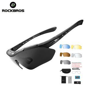 [Primeira Compra] Óculos de Sol Esportivo Masculino ROCKBROS (5 Lentes)