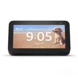 Smart Speaker Amazon Alexa Echo Show 5 Com Tela 5.5'' Preto R$530