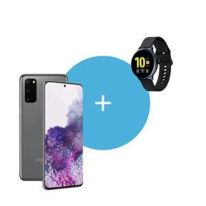 Galaxy S20 Cosmic Gray + Watch Active 2 | R$4138