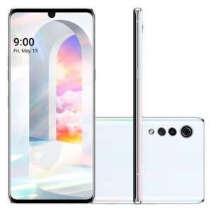 Smartphone LG Velvet Aurora White 128GB, 6GB RAM R$1990
