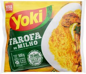 [Prime] Farofa Milho Yoki 500g R$3