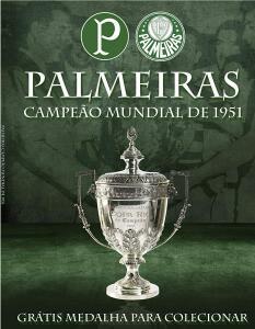 Palmeiras Campeão Mundial de 1951 (Português) Capa comum R$35