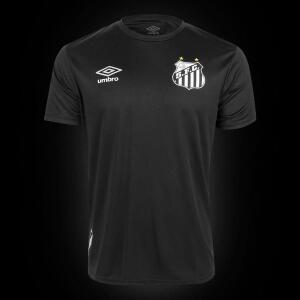 Camisa Santos Black Edição Limitada 20/21 s/n Torcerdor Umbro Masculina
