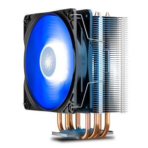COOLER PARA PROCESSADOR DEEPCOOL GAMMAXX 400 V2 LED AZUL - R$115