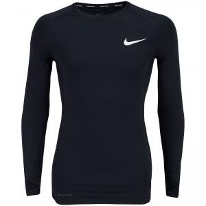 Camisa de Compressão Manga Longa Nike Pro Top LS Tight - Masculina - R$65