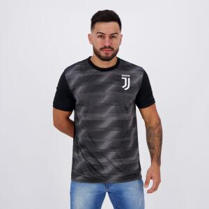Camisa Juventus Effect Preta   R$ 43