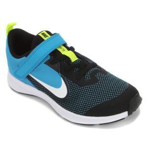 Tênis Infantil Nike Downshifter 9 Velcro PSV - Preto | R$129