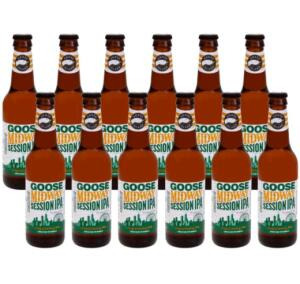 VOLTOU! (Cliente Ouro + Cupom) Cerveja Groose Island Midway IPA - 12 unidades de 355ml | R$30