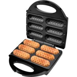 Crepeira e Hot Dog Britânia Six - Preta 110 V | R$112