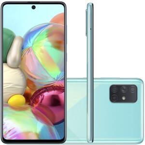 [AME 1.728] Celular Samsung Galaxy A71 Azul 6GB 128GB