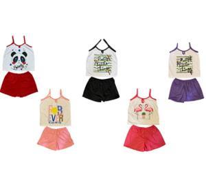 Kit Com 5 Baby Doll De Malha De Algodão | R$80