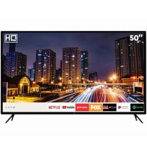 "Smart TV LED 50"" HQ HQSTV50NY Ultra HD 4K Netflix Youtube 3 HDMI 2 USB Wi-Fi | R$ 1912"