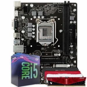 Pichau Kit Upgrade, Intel i5-9400F, Biostar H310MHP, 8GB 2666Mhz   R$ 1780