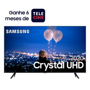 "Smart TV 50"" Crystal UHD 4K TU8000 + 6 meses de telecine | R$2184"