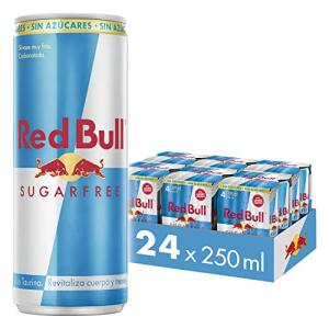 [PRIME+REC] Energético Red Bull Sugar Free - 24 latas - 250ml | R$119