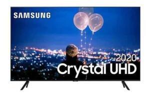 Samsung Smart Tv Crystal Uhd Tu8000 4k 50 , Borda Infinita - R$2239