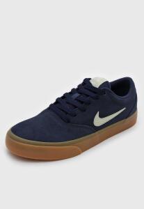 Tênis Nike SB Charge Suede Azul-Marinho | R$ 113