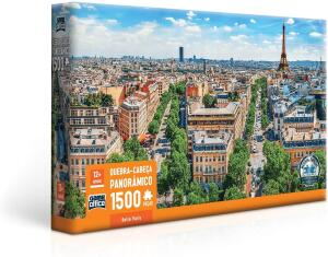 [PRIME] Quebra Cabeça 1500 Peças Belle Paris R$ 54