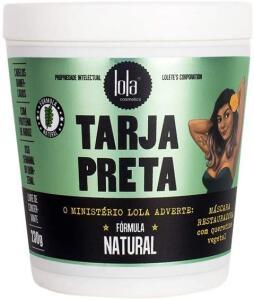 [PRIME] Máscara Tarja Preta Queratina Vegetal - Lola Cosmetics - 230g | R$ 23,94