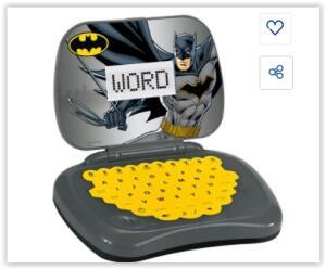 Laptop Candide Batman Bilíngue - Cinza | R$ 67