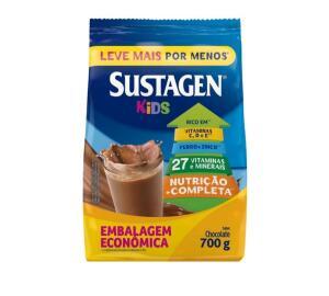 [APP + Cliente Ouro] Complemento Alimentar Infantil Sustagen Kids - Chocolate 700g - R$24