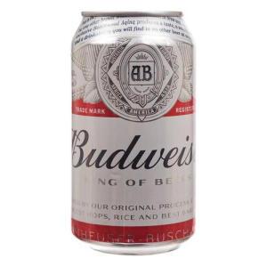 [AME R$ 2,52] Cerveja Budweiser 350ml - R$4
