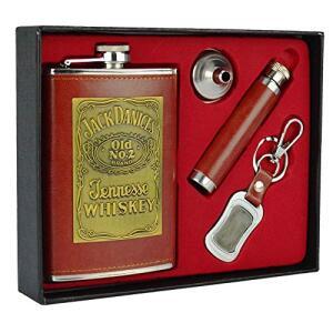 Cantil De Bolso Porta Bebida Whisky Mini Garrafa | R$72