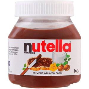 Nutella 140g Ferrero - 8 unidades   R$4,50 (cada)