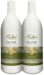 [PRIME] Kit Shampoo E Condicionador Oliva E Queratina Vegetal Florigen 1L | R$26