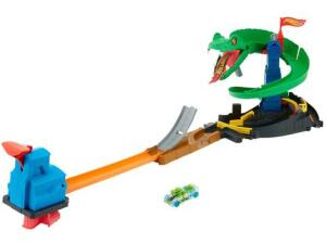 Pista com Carrinho Hot Wheels Ataque de Cobra - Mattel | R$162